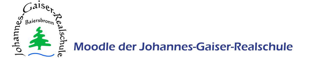 Moodle der Johannes-Gaiser-Realschule
